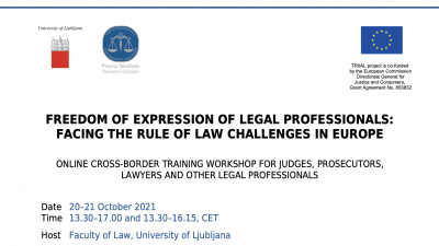 Permalink to:Extended deadline until 4 October – Freedom of Expression of Legal Professionals